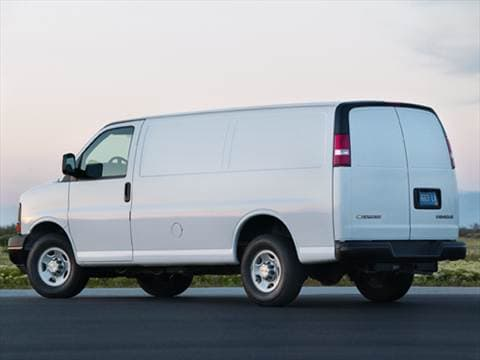 2010 Chevrolet Express 2500 Cargo Van 3D  photo
