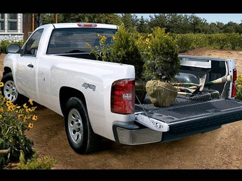 2010 Chevrolet Silverado 1500 Regular Cab Work Truck Pickup 2D 8 ft  photo