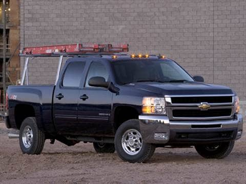 2010 Chevrolet Silverado 2500 Hd Crew Cab Pricing Ratings