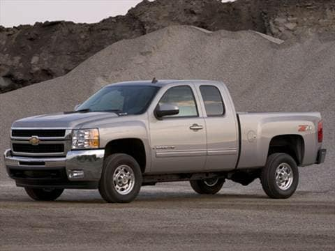 2010 Chevrolet Silverado 2500 HD Extended Cab Work Truck Pickup 4D 6 1/2 ft  photo