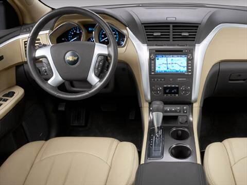2010 Chevrolet Traverse Pricing Ratings Reviews Kelley Blue Book