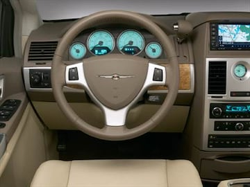 2010 chrysler town  country Interior
