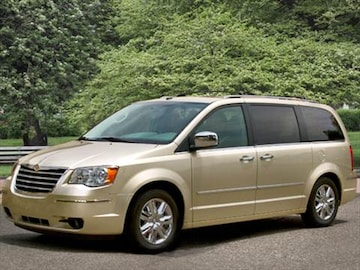2010 chrysler town  country Exterior