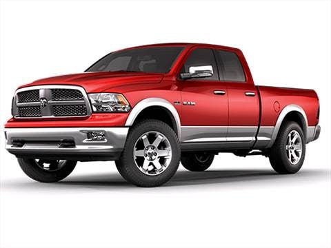 2010 Dodge Ram 1500 Quad Cab 15 Mpg Combined