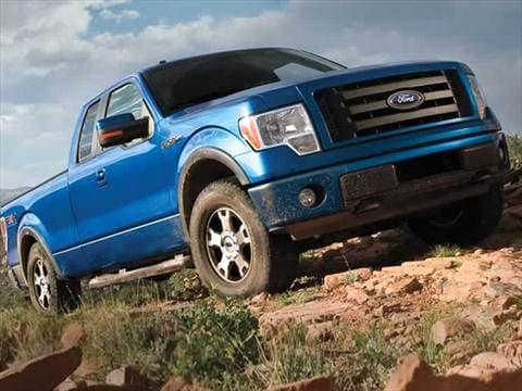 2010 ford f150 super cab Exterior