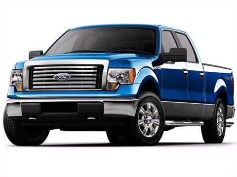 2010 Ford F150 SuperCrew Cab Lariat Pickup 4D 6 1/2 ft  photo