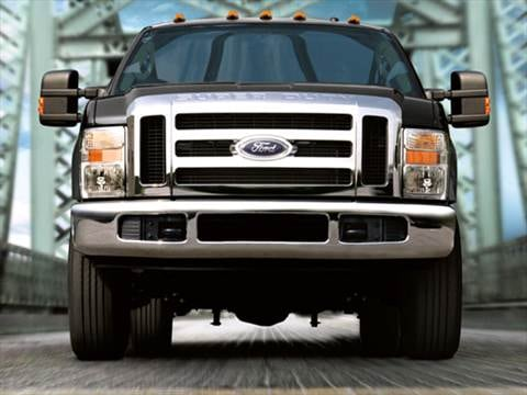 2010 Ford F350 Super Duty Crew Cab XL Pickup 4D 8 ft  photo