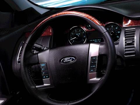 2010 ford flex Interior