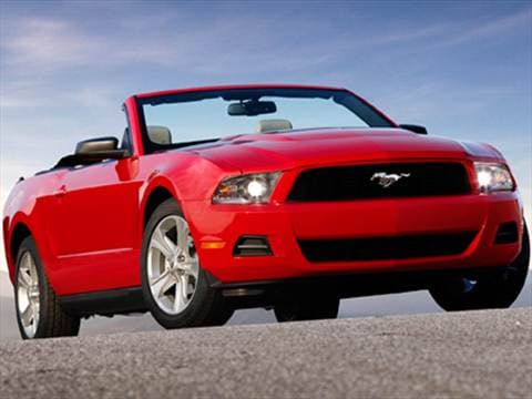 2010 Ford Mustang Convertible 2D  photo