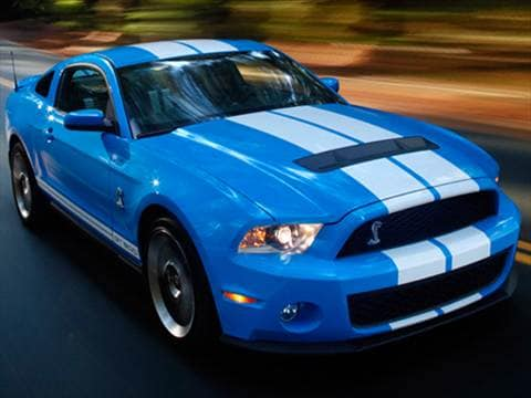 2010 Ford Mustang Shelby GT500 Coupe 2D  photo