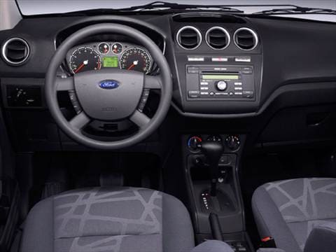 2010 ford transit connect cargo Interior