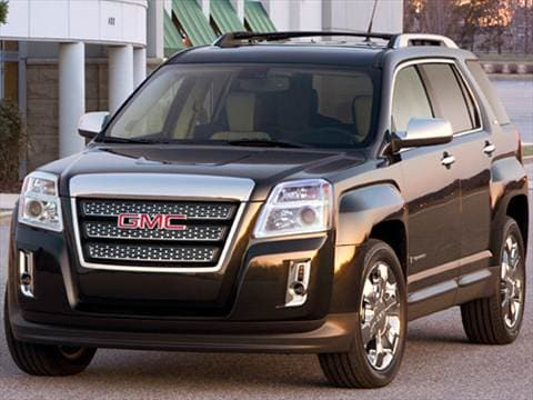 2010 GMC Terrain SLE Sport Utility 4D  photo
