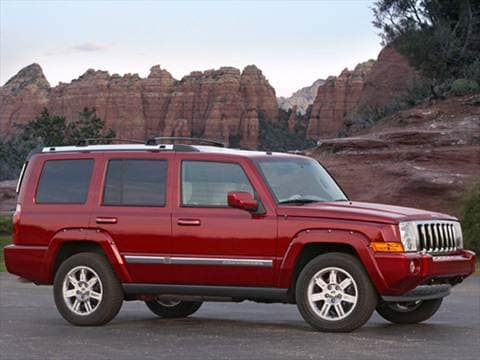 2010 Jeep Commander Sport Utility 4D  photo