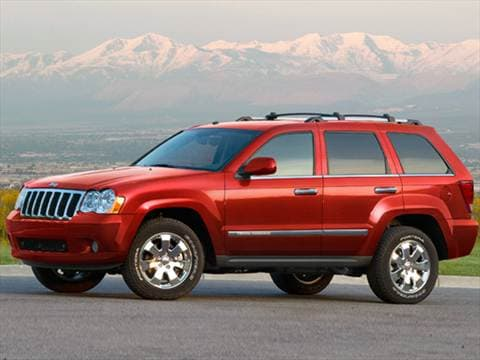 2010 Jeep Grand Cherokee. 17 MPG Combined