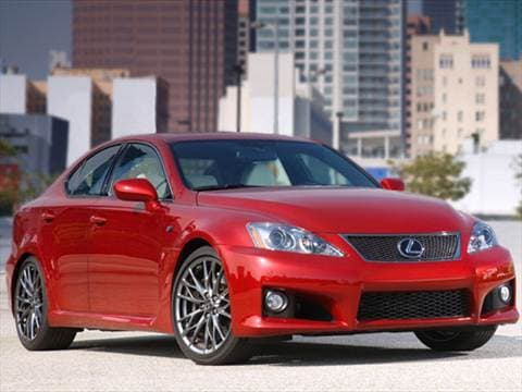 2010 lexus is f Exterior