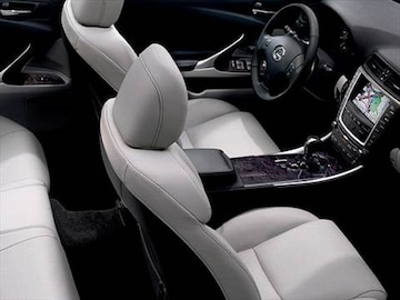 2010 Lexus Is Interior