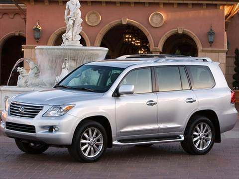 2010 Lexus LX LX 570 Sport Utility 4D  photo