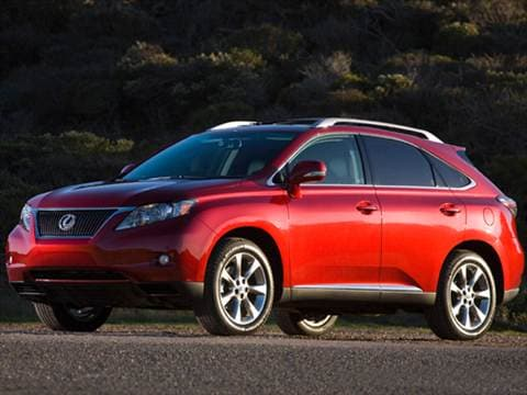 2010 Lexus RX RX 350 Sport Utility 4D  photo