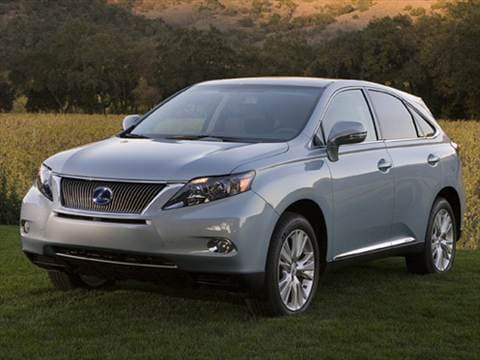 2010 Lexus RX RX 450h Sport Utility 4D  photo