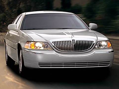 2010 Lincoln Town Car Pricing Ratings Reviews Kelley Blue Book