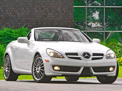 2010 Mercedes-Benz SLK-Class SLK300 Roadster 2D  photo