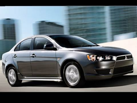 2010 Mitsubishi Lancer DE Sedan 4D  photo