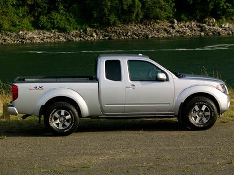 2010 nissan frontier king cab Exterior