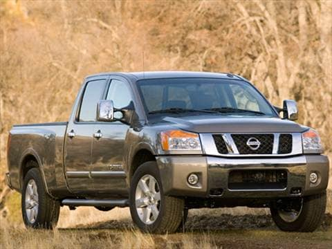 2010 Nissan Titan Crew Cab XE Pickup 4D 5 1/2 ft  photo
