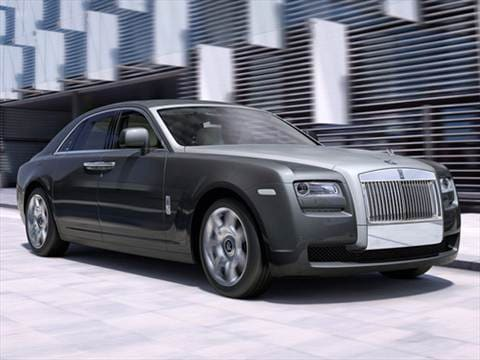 2010 Rolls-Royce Ghost Sedan 4D  photo