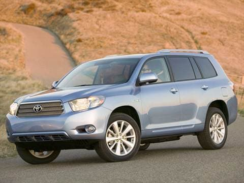 2010 Toyota Highlander. 26 MPG Combined