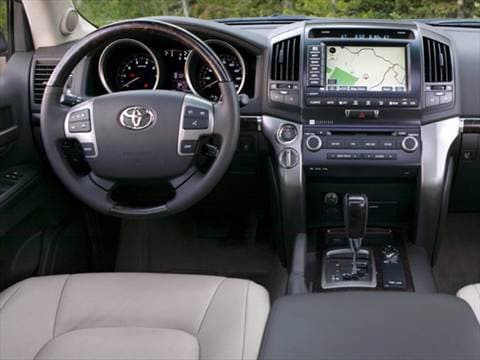 2010 toyota land cruiser Interior