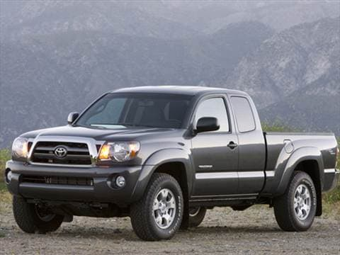 Superb 2010 Toyota Tacoma Access Cab. 22 MPG Combined