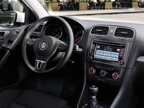 2010 volkswagen golf Interior