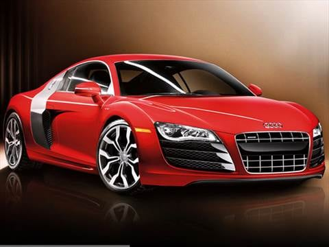 2011 Audi R8 5.2 Quattro Coupe 2D  photo