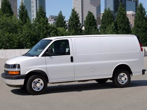 2011 Chevrolet Express 1500 Cargo Van 3D  photo