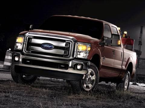 2011 Ford F350 Super Duty Crew Cab King Ranch Pickup 4D 8 ft  photo