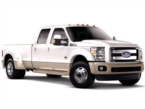 2011 Ford F450 Super Duty Crew Cab King Ranch Pickup 4D 8 ft  photo