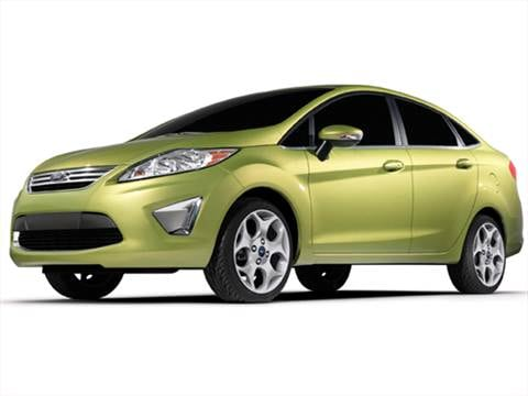 2011 Ford Fiesta S Sedan 4D  photo