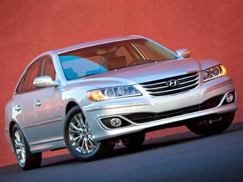 2011 Hyundai Azera GLS Sedan 4D  photo