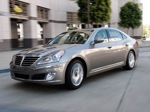 2011 Hyundai Equus Signature Sedan 4D  photo