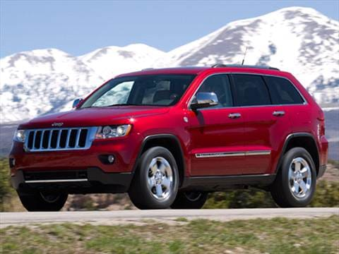 2011 Jeep Grand Cherokee. 18 MPG Combined