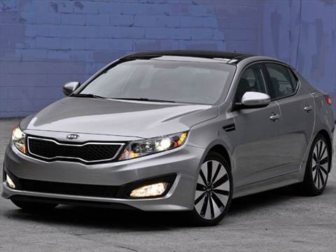 2011 Kia Optima EX Sedan 4D  photo