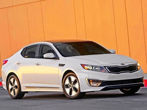 2011 Kia Optima Hybrid Sedan 4D  photo