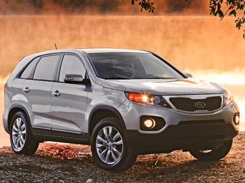 2011 Kia Sorento Pricing Ratings Reviews Kelley Blue Book