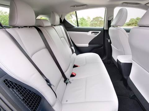 2011 lexus ct Interior