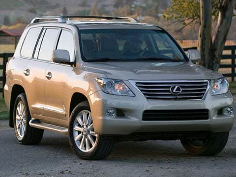 2011 Lexus LX LX 570 Sport Utility 4D  photo