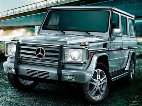 2011 Mercedes-Benz G-Class G550 4MATIC Sport Utility 4D  photo