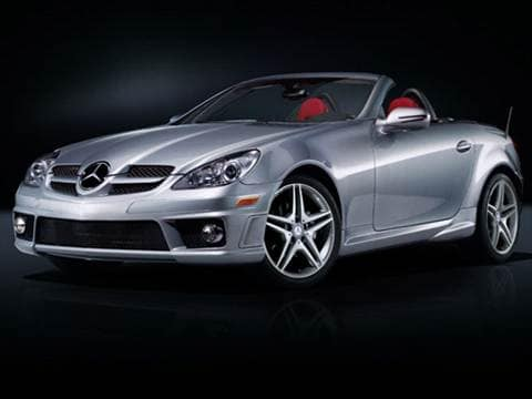 2011 Mercedes-Benz SLK-Class SLK350 Roadster 2D  photo