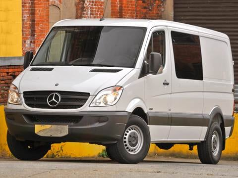 2011 mercedes benz sprinter 2500 crew