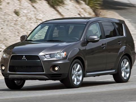 2011 Mitsubishi Outlander Pricing Ratings Amp Reviews Kelley Blue Book